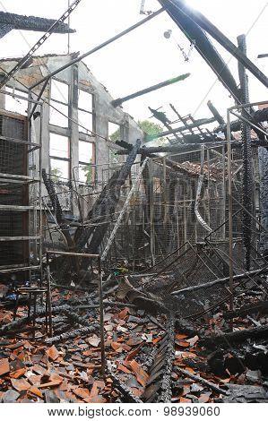 Burned Factory