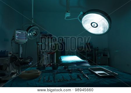 Operating Room With Equipment