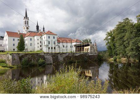 Klooster in Vissy Brod Tsjechië