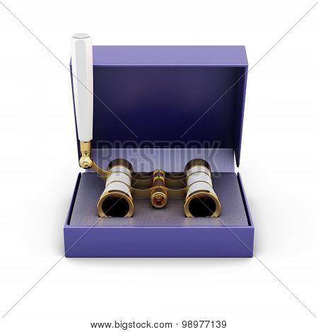 Opera Glasses In The Box