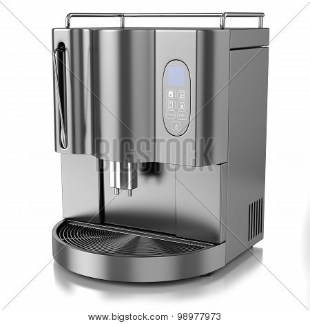Coffee Machine Chrome
