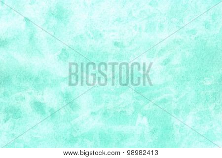 Abstract Watercolor Background Painted Hands Light Green