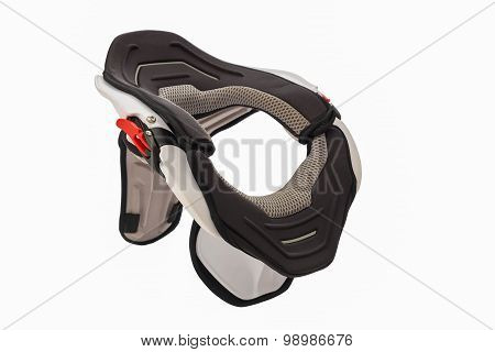 Used white bike neck brace