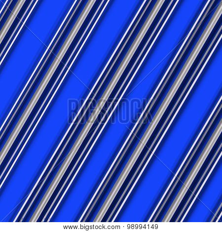 Candy Cane Pattern Blue and White