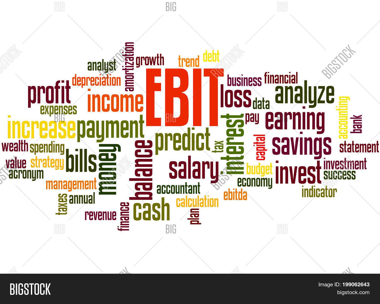 Ebit Earnings Before Image & Photo (Free Trial) | Bigstock