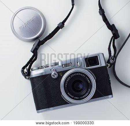 Fujifilm X100 Rangefinder Style Camera Product Photo