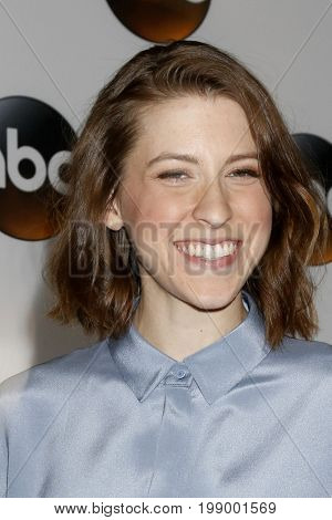 LOS ANGELES - AUG 6:  Eden Sher at the ABC TCA Summer 2017 Party at the Beverly Hilton Hotel on August 6, 2017 in Beverly Hills, CA