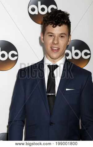 LOS ANGELES - AUG 6:  Nolan Gould at the ABC TCA Summer 2017 Party at the Beverly Hilton Hotel on August 6, 2017 in Beverly Hills, CA