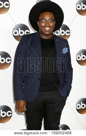 LOS ANGELES - AUG 6:  Marcel Spears at the ABC TCA Summer 2017 Party at the Beverly Hilton Hotel on August 6, 2017 in Beverly Hills, CA
