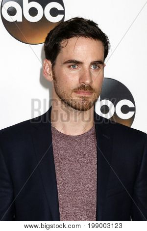 LOS ANGELES - AUG 6:  Colin ODonoghue at the ABC TCA Summer 2017 Party at the Beverly Hilton Hotel on August 6, 2017 in Beverly Hills, CA