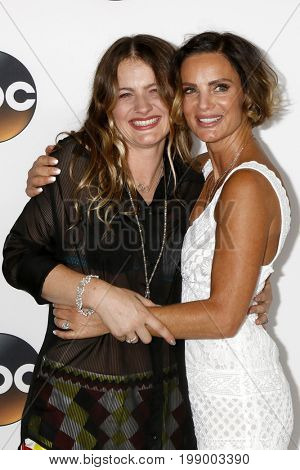 LOS ANGELES - AUG 6:  Willow Anwar, Gabrielle Anwar at the ABC TCA Summer 2017 Party at the Beverly Hilton Hotel on August 6, 2017 in Beverly Hills, CA