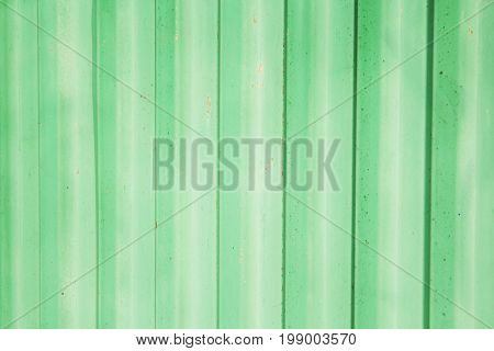 Old cracked painted rustic green turquoise texture or background