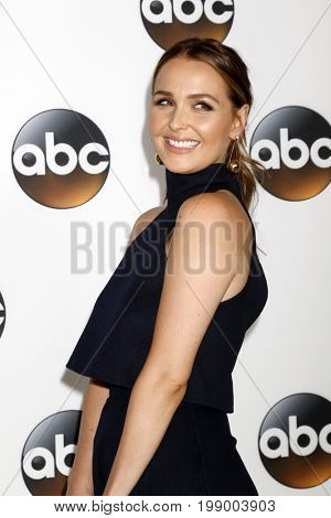 LOS ANGELES - AUG 6:  Camilla Luddington at the ABC TCA Summer 2017 Party at the Beverly Hilton Hotel on August 6, 2017 in Beverly Hills, CA