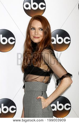 LOS ANGELES - AUG 6:  Darby Stanchfield at the ABC TCA Summer 2017 Party at the Beverly Hilton Hotel on August 6, 2017 in Beverly Hills, CA