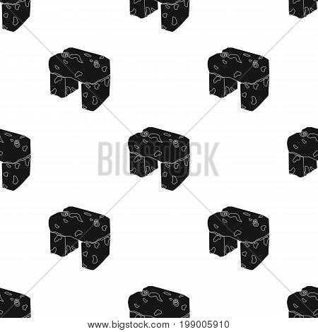 The stone seat.Ancient chair ancient Scots. Scotland country symbol .Scotland single icon in black style vector symbol stock web illustration.