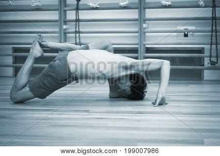 Yoga Pilates Wall Bar Training