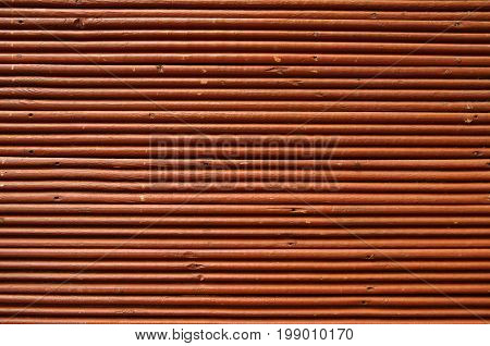 Brown Wood Lath Line Arrange Pattern Texture Background