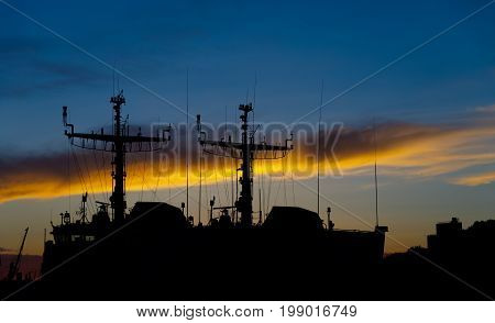 Port Of Liepaja, Latvia