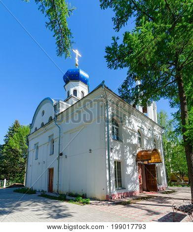 Assumption Church (Church in honor of Assumption of Blessed Virgin Mary) Vitebsk Belarus