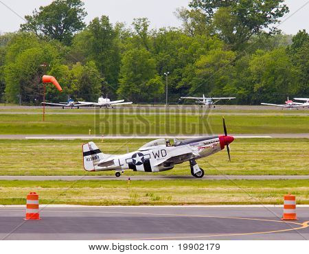 P-51 Mustang Airplane