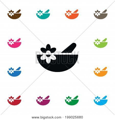 Bowl Vector Element Can Be Used For Healthy, Food, Bowl Design Concept.  Isolated Healthy Food Icon.