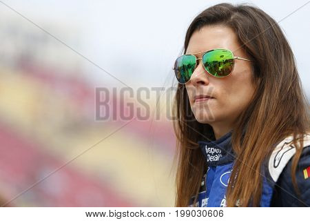 August 06, 2017 - Watkins Glen, New York, USA: Danica Patrick (10) hangs out on pit road prior to qualifying for the I LOVE NY 355 at Watkins Glen International in Watkins Glen, New York.