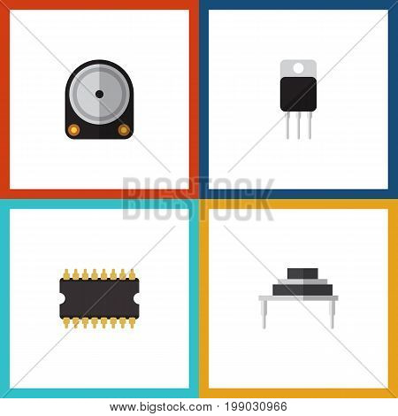 Flat Icon Appliance Set Of Destination, Hdd, Receiver And Other Vector Objects