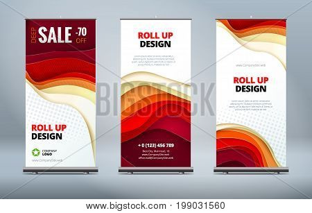 business roll banner vector photo free trial bigstock