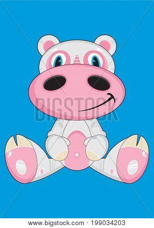 Cartoon Hippo 29