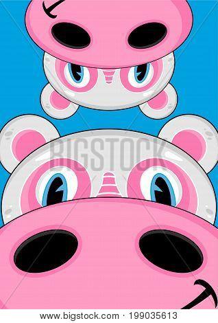 Cartoon Hippo 37