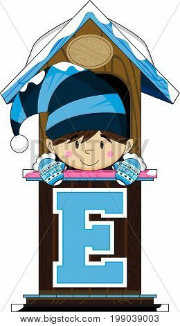 E Is For Elf 3.eps