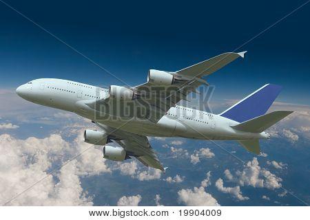 aircraft climbing