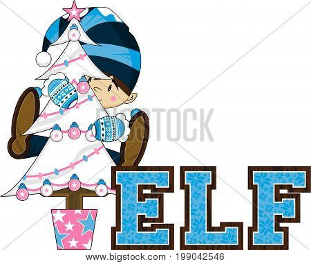 E Is For Elf 61.eps