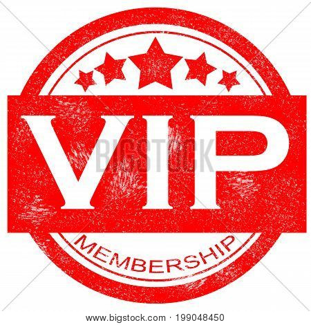 grunge membership vip rubber stamp on white background. vip grunge rubber stamp. vip sign.