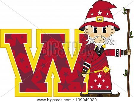 W Is For Wizard 2
