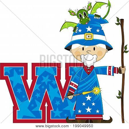 W Is For Wizard 6