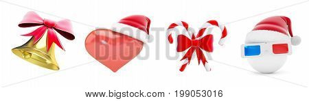 Graduation hat question mark on a white background 3D illustration 3D rendering