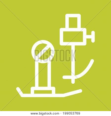 Sewing, machine, parts icon vector image. Can also be used for Sewing. Suitable for mobile apps, web apps and print media.