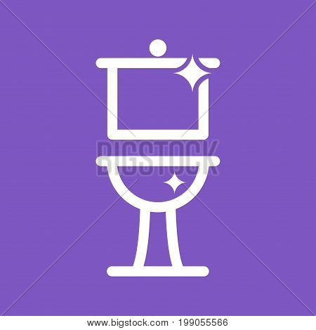 Bathroom, clean, house icon vector image. Can also be used for Cleaning Services. Suitable for use on web apps, mobile apps and print media.