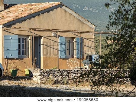 Old House in the Provence southern France
