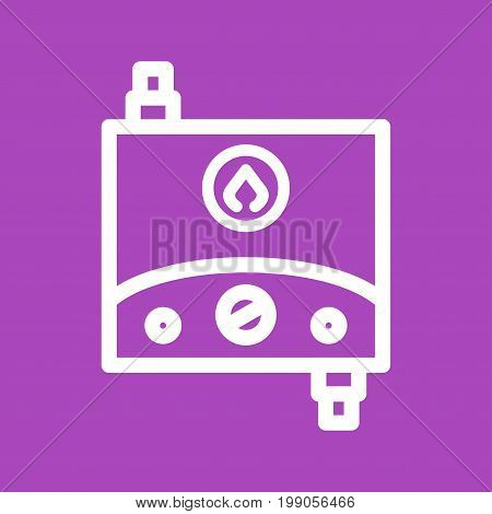 Water, heater, tankless icon vector image. Can also be used for Climatic Equipment. Suitable for use on web apps, mobile apps and print media.