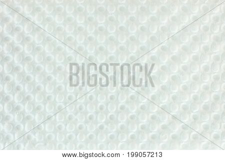 White Bumpy Packing Cardboard Textured Surface Background