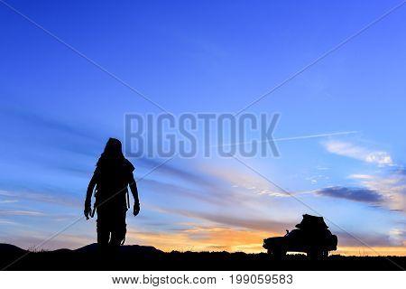 Man in pursuit of adventure & explorer