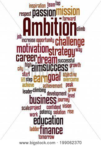 Ambition, Word Cloud Concept 6