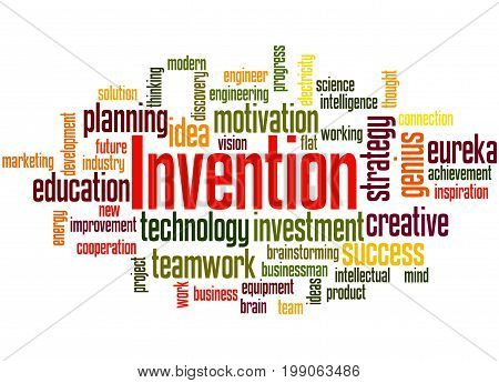 Invention, Word Cloud Concept 3