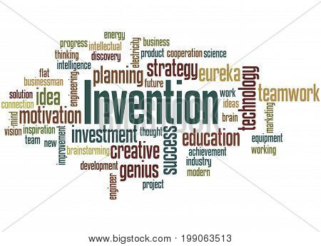 Invention, Word Cloud Concept 5