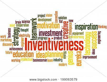 Inventiveness, Word Cloud Concept 2