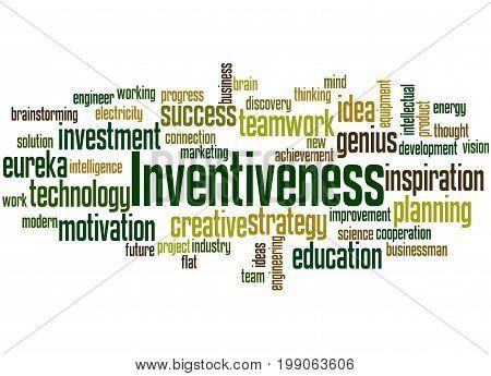 Inventiveness, Word Cloud Concept 4