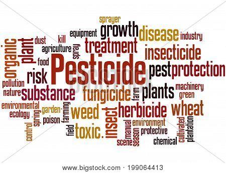 Pesticide, Word Cloud Concept 6