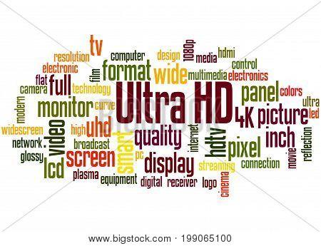 Ultra Hd, Word Cloud Concept 4